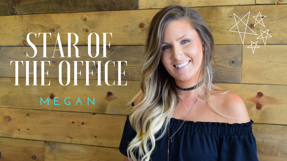 July Star Of The Office Megan